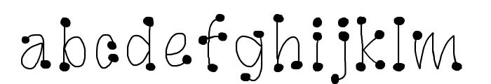 GaGooPro-NormalRegular Font LOWERCASE