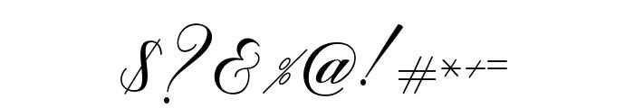 GalishaScript Font OTHER CHARS