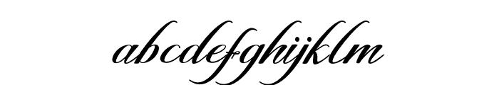 GalishaScript Font LOWERCASE
