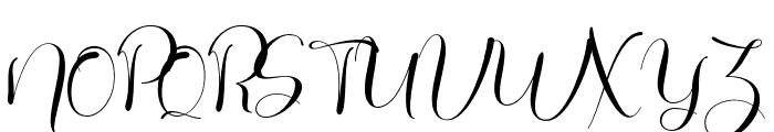 Galista Font UPPERCASE