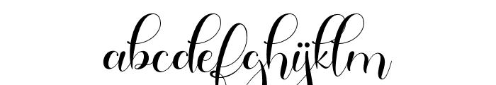 Galista Font LOWERCASE