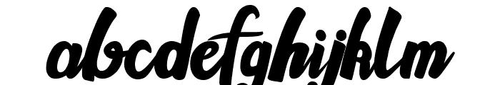 Gallant Font LOWERCASE