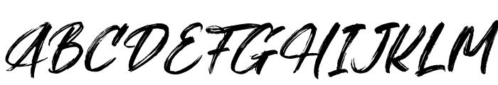 Gallendo Italic Font UPPERCASE
