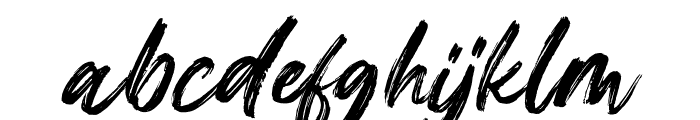 Gallendo Italic Font LOWERCASE