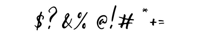 Gallendo-Regular Font OTHER CHARS