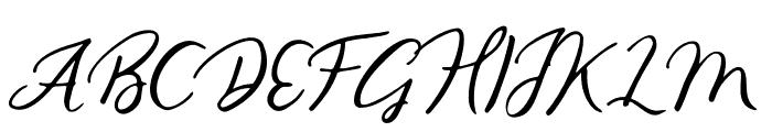 Gallendo-Regular Font UPPERCASE