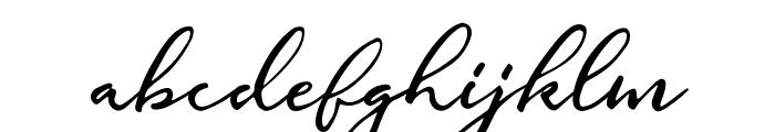 Gallendo-Regular Font LOWERCASE