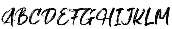 Gallendo Font UPPERCASE