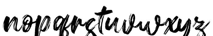 Gallendo Font LOWERCASE