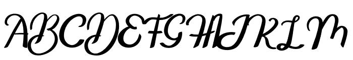 Galline Font UPPERCASE