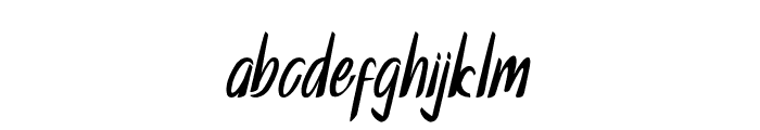 Galline Font LOWERCASE