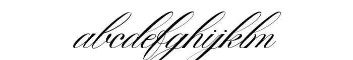 Gallisia Script Font LOWERCASE