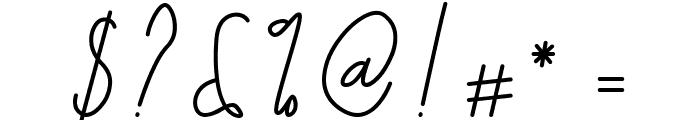 Galliyani Font OTHER CHARS