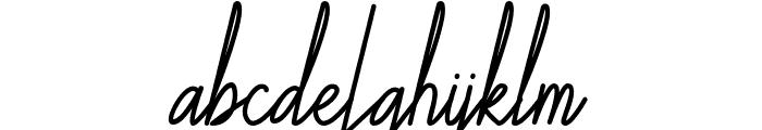Galliyani Font LOWERCASE