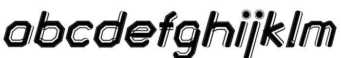 Gallope Font LOWERCASE