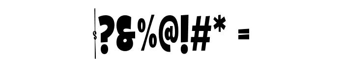 Galpon Black Condensed Font OTHER CHARS