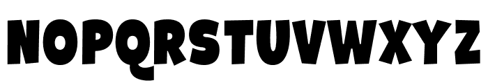 Galpon Black Font UPPERCASE