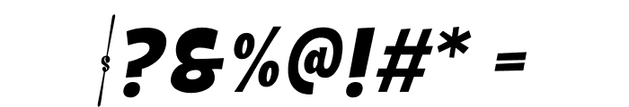 Galpon Normal Italic Font OTHER CHARS