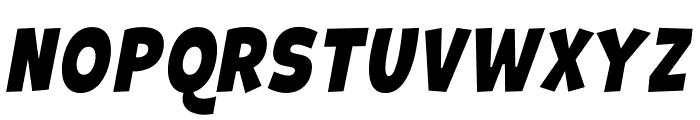 Galpon Normal Italic Font UPPERCASE