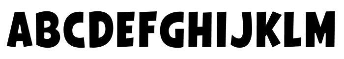 Galpon Normal Font UPPERCASE