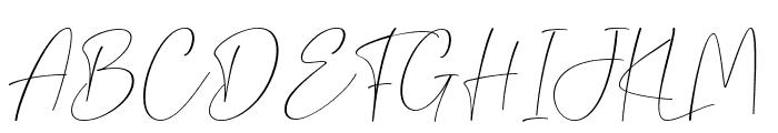 Gamaleon Font UPPERCASE