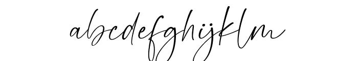 Gamaleon Font LOWERCASE