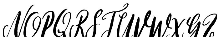 Gardenhouse Font UPPERCASE