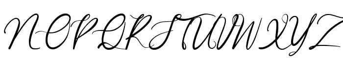 Garlando Font UPPERCASE
