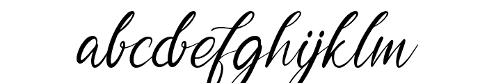 Garlando Font LOWERCASE