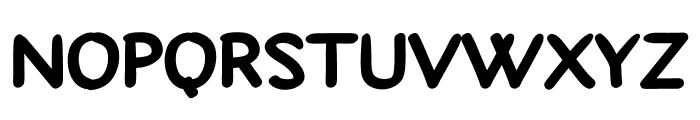 Gasmart Font UPPERCASE