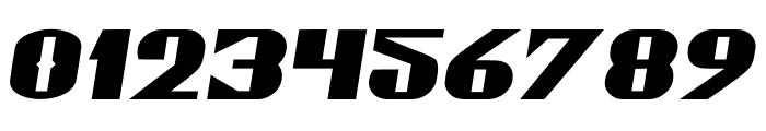 Gaspardo Oblique Expanded Font OTHER CHARS
