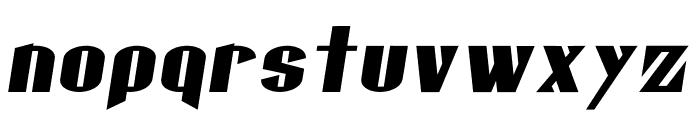 Gaspardo Oblique Font LOWERCASE