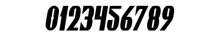 Gaspardo Super Condensed Oblique Font OTHER CHARS