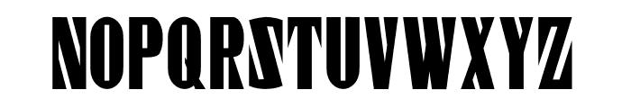 Gaspardo Super Condensed Font UPPERCASE