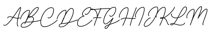 Gatkins Font UPPERCASE