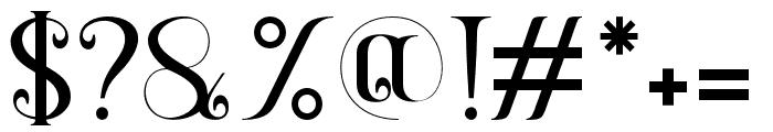 Gayatri Font OTHER CHARS