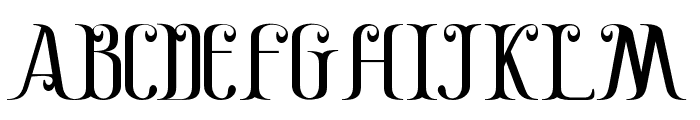 Gayatri Font UPPERCASE