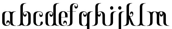 Gayatri Font LOWERCASE