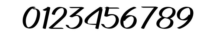 Gedrick Italic Font OTHER CHARS