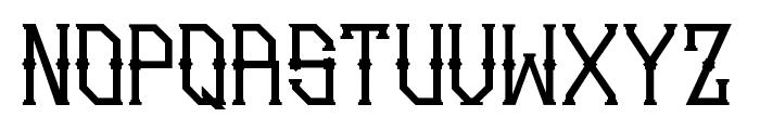 Gedung sate Artdeco Font UPPERCASE