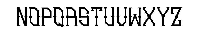 Gedung sate Artdeco Font LOWERCASE