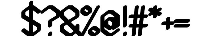 Gelimer regular Font OTHER CHARS