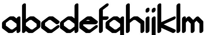 Gelimer regular Font LOWERCASE