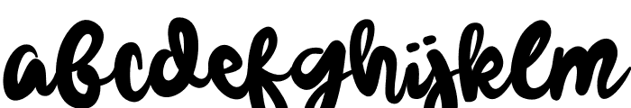 Gelowing Font LOWERCASE