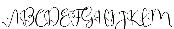 Gempi Font UPPERCASE