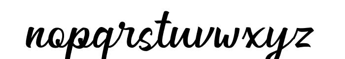 Generation Ligature Font LOWERCASE
