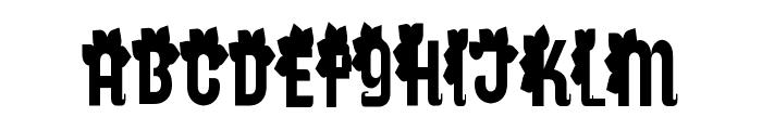 Genres Regular Font UPPERCASE