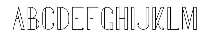 Gentleman Font LOWERCASE