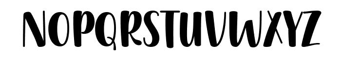 Gently Harmony Font UPPERCASE