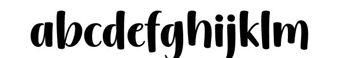 Gently Harmony Font LOWERCASE